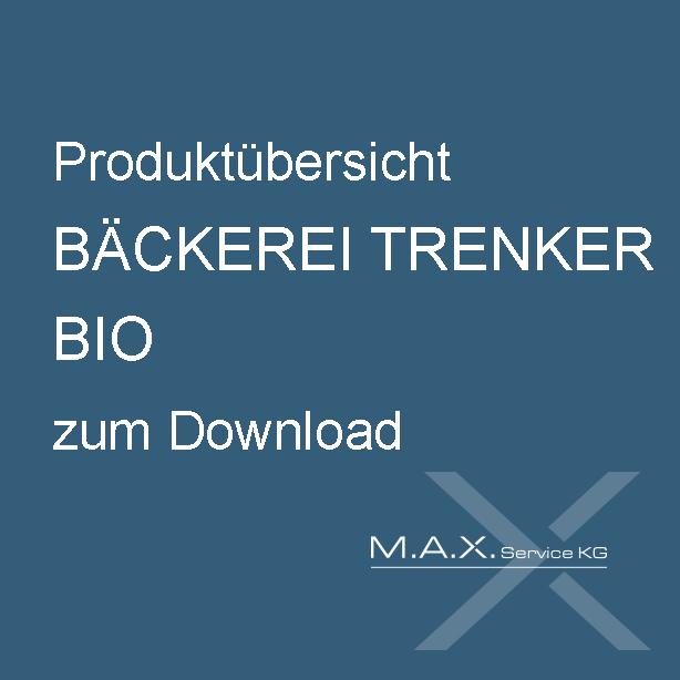 Produktübersicht BÄCKEREI TRENKER BIO zum Download