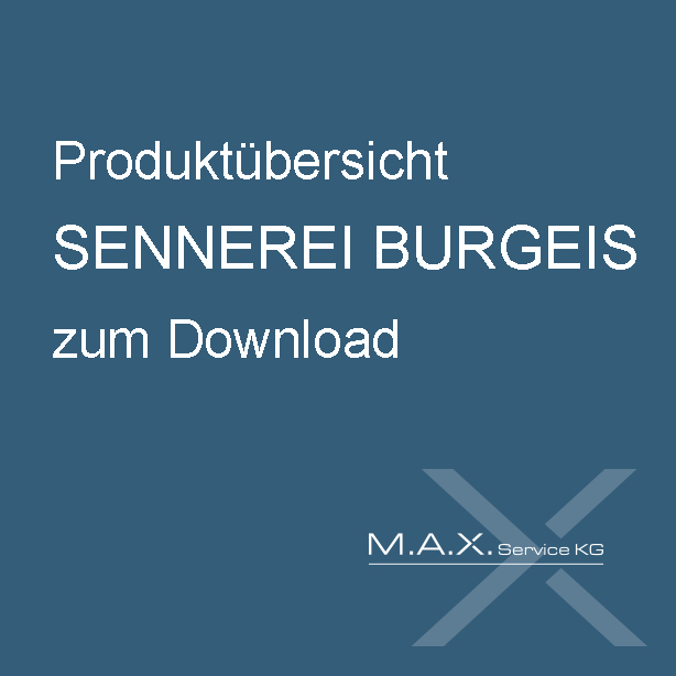 Produktübersicht Sennerei Burgeis